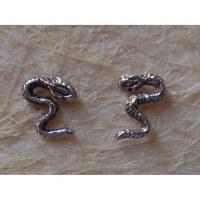 Clous d'oreilles serpent S