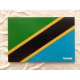 Aimant drapeau Tanzanie