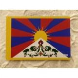 Aimant drapeau du Tibet