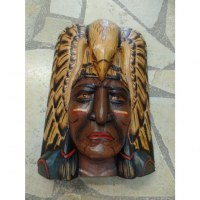 Masque chef Indien grand aigle