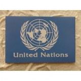 Aimant drapeau Nations unies