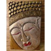 Tableau Bouddha aux lèvres rouges