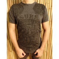 T shirt anthracite Aum