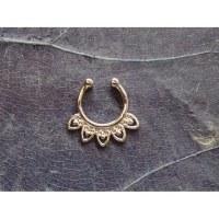 Bijou septum jewel argenté