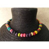 Collier color bola