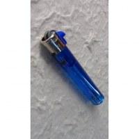 Briquet jetable tube bleu