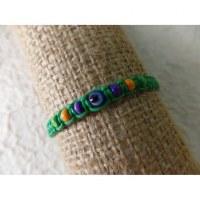 Bracelet vert oeil