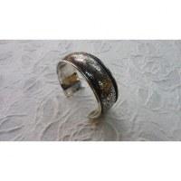 Bracelet argenté floralie