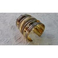 Bracelet manchette accordéon