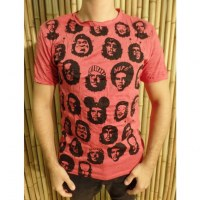 Tee shirt rouge coquelicot Che Guevara