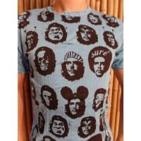 Tee shirt bleu Che Guevara
