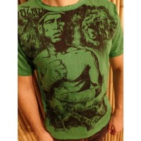 Tee shirt vert vif Mr Khanom Tom