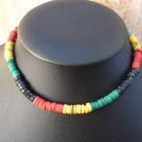 Collier rasta surf 1