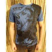 Tee shirt Bob Marley bleu roi
