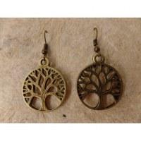 Boucles d'oreilles arbre de vie 2
