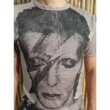 Tee shirt David Bowie beige