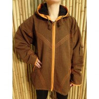 Veste Kopan marron/orange