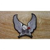 Ecusson aigle gris