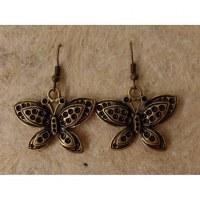 Boucles d'oreilles les papillons 2