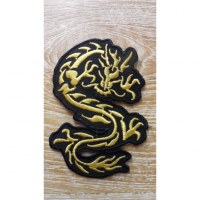 Patch dragon jaune