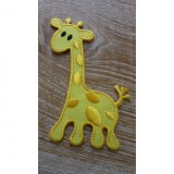 Patch jaune girafe