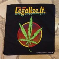 Bandana feuille à fumer légalize