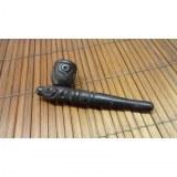 Petite pipe gravée noir 1