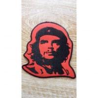 Ecusson rouge et noir Che Guevara