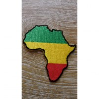 Patch drapeau rastafrica