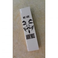 Feuilles slim we are Anonymous