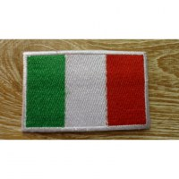 Ecusson drapeau italien