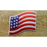 Ecusson bannière des Etats Unis