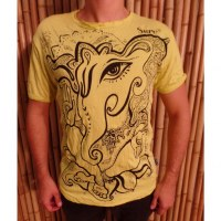 Tee shirt jaune little Ganesha