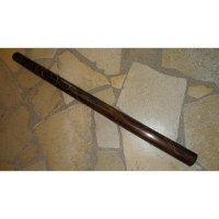Didgeridoo foncé maori 120 cm en do dièse