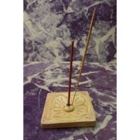 Porte encens carré lotus