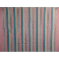 Tenture maxi Kérala rayée rose/bleu