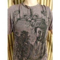 Tee shirt natural inspiration prune