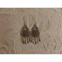 Boucles d'oreilles ethnik ocèle pampilles
