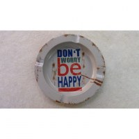 Cendrier Don't worry be happy