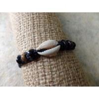 Bracelet macramé sea noir