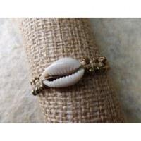 Bracelet macramé mer beige