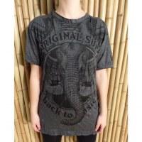 Tee shirt anthracite éléphant ailé
