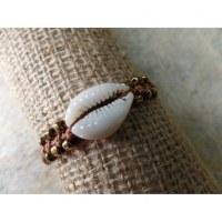 Bracelet macramé mer marron clair
