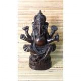 Statuette Ganesh sur le trône de lotus