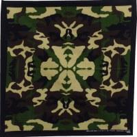 Bandana vert camouflage