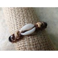 Bracelet macramé mer/sea marron