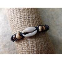 Bracelet macramé mer/sea noir