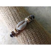 Bracelet macramé mer/sea blanc
