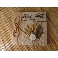 Bloc notes fleurs