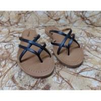 Sandales Tropéziennes Bip noir